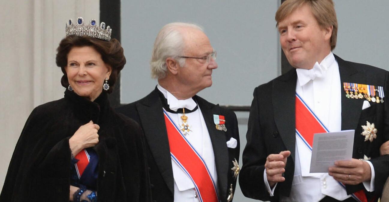 Drottning Silvia Kungen Kung Willem-Alexander