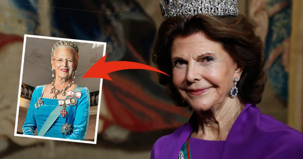 Drottning Silvia drottning MargretheDrottning Silvia drottning Margrethe