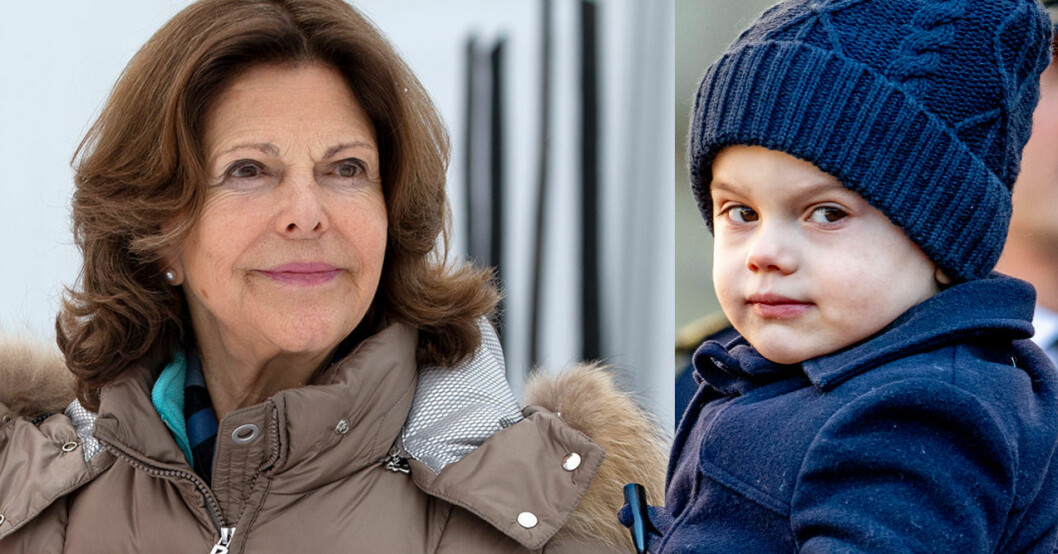 Drottning Silvia Prins Oscar