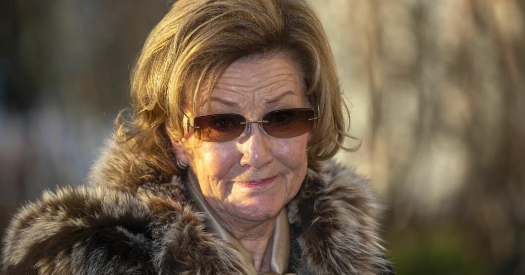 Drottning Sonja Syster Gry Henriksen självmord död 1970
