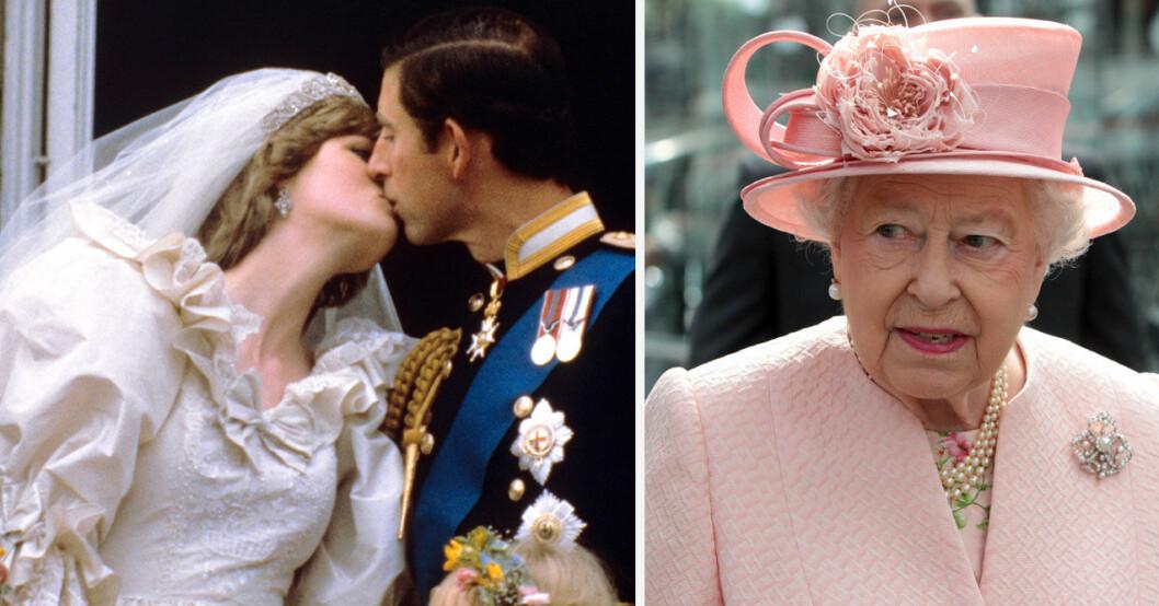 SVT att valt att sända Charles och Dianas bröllop samtidigt som prins Philip blir begraven