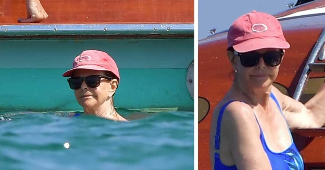 Drottning Silvia badar 2019