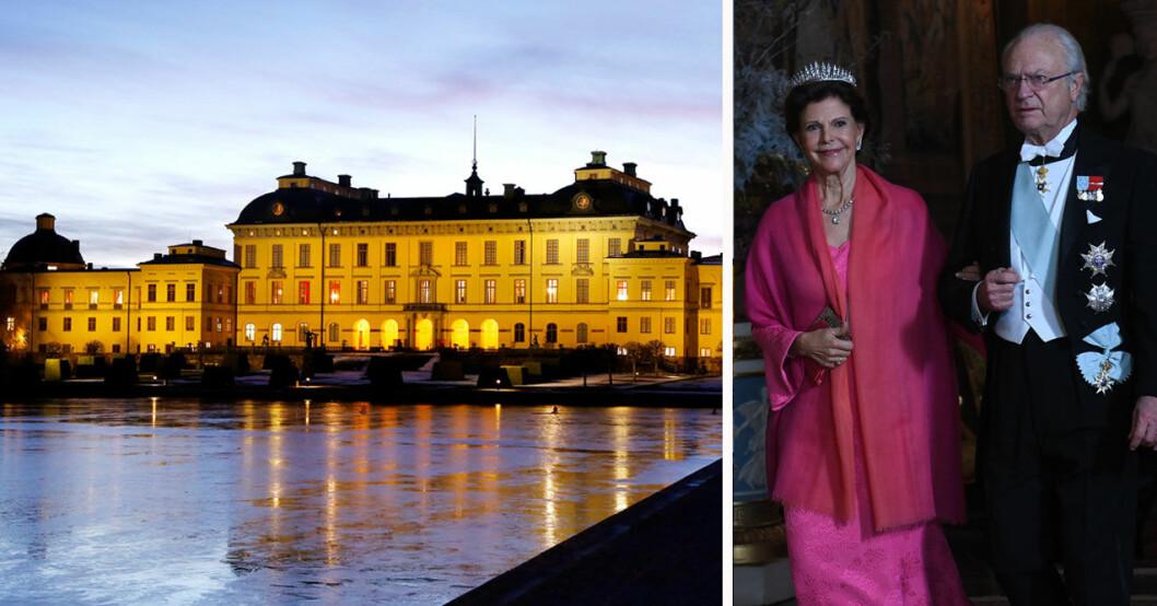 Kungaparet och Drottningholms slott