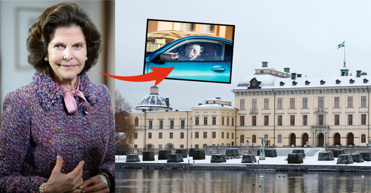 Drottningholm Kungen Drottning Silvia