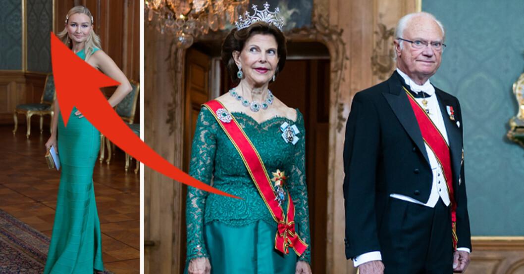Ebba Busch, drottning Silvia och kung Carl Gustaf