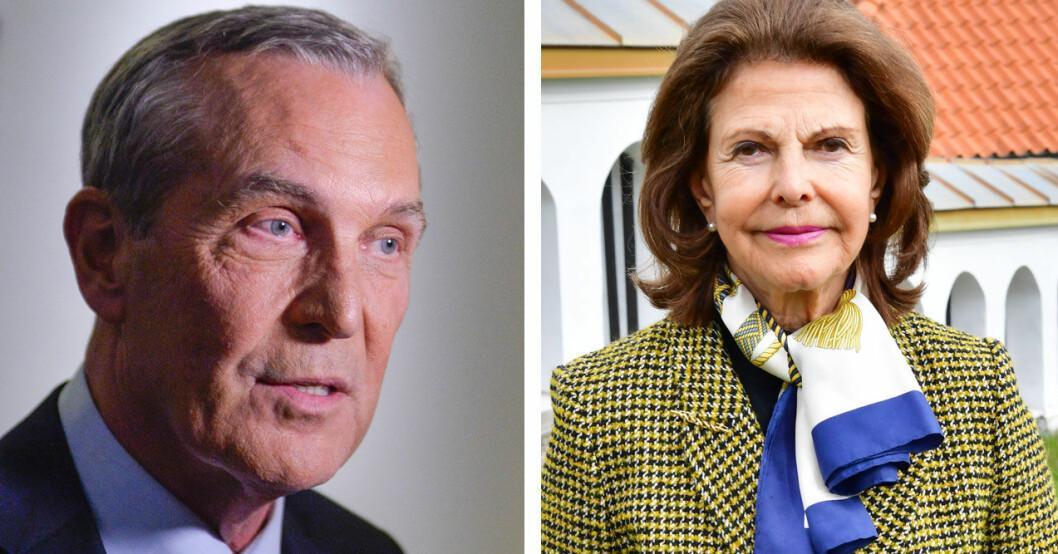 Claes Elfsberg gjorde den kanske allra mest klassiska intervjun med drottning Silvia.