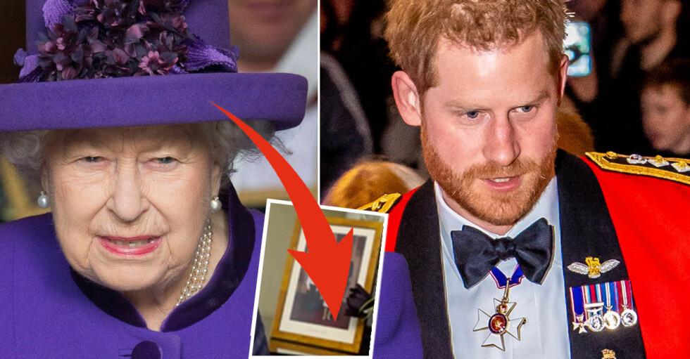 Prins Harry Drottning Elizabeth
