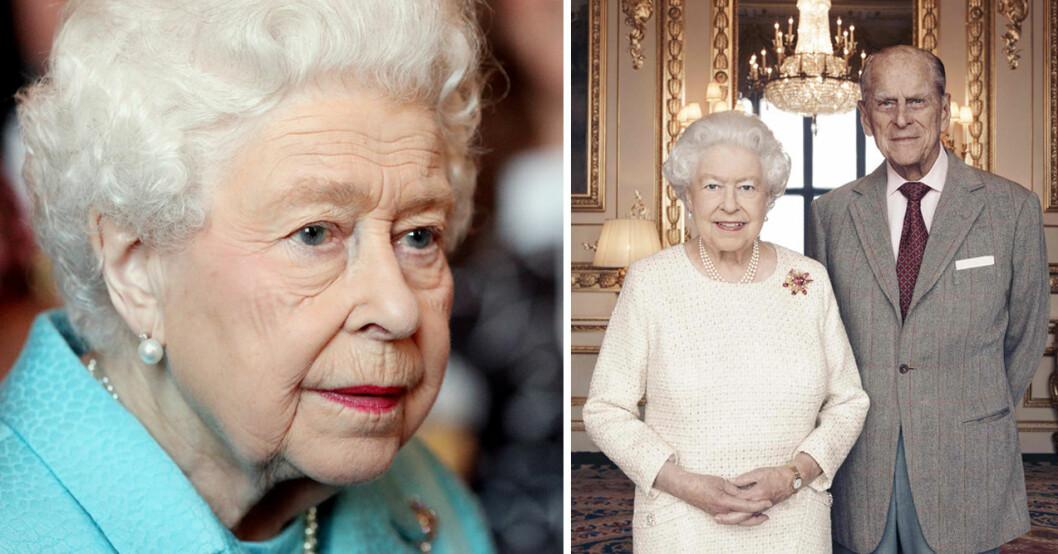 Drottning Elizabeth Prins Philip