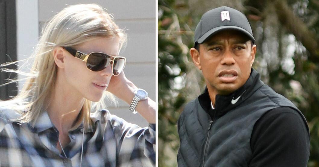 Elin Nordegren och Tiger Woods