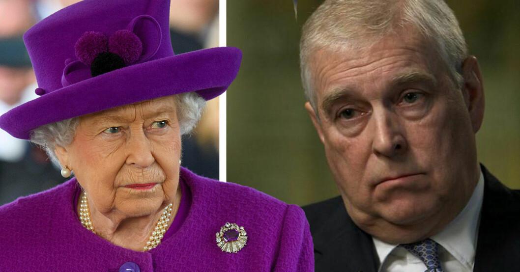 prins andrew drottning elizabeth