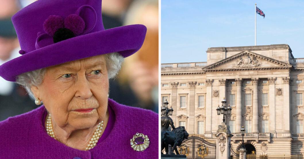 Drottning Elizabeth, Buckingham Palace