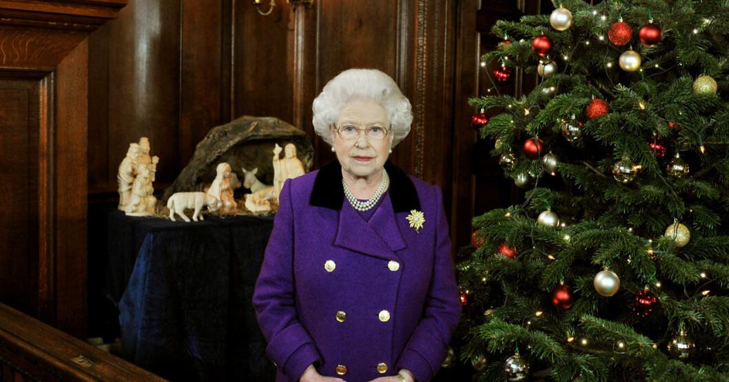 Elizabeth håller hårt på sina jultraditioner.