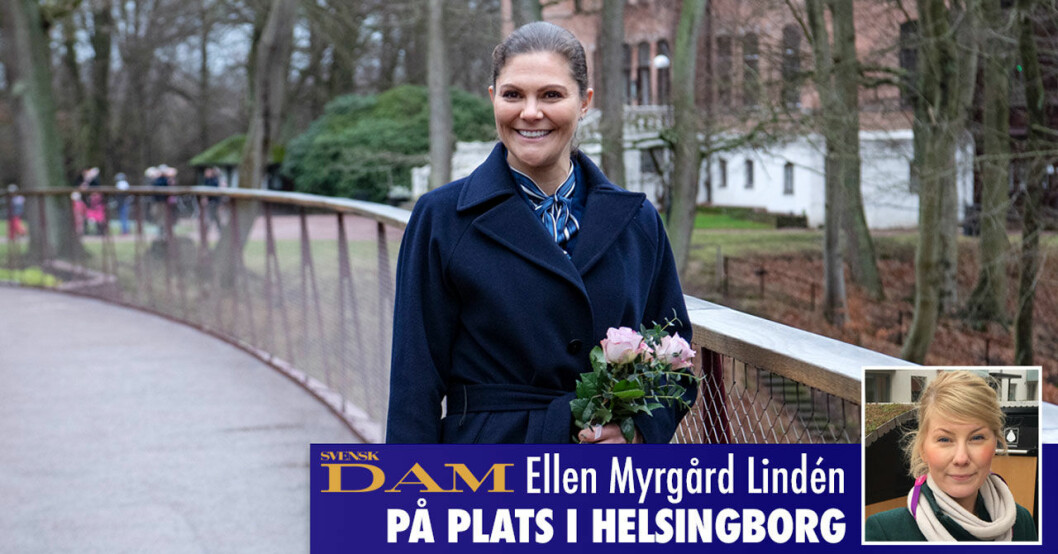 Svensk Damtidninig på plats i Helsingborg