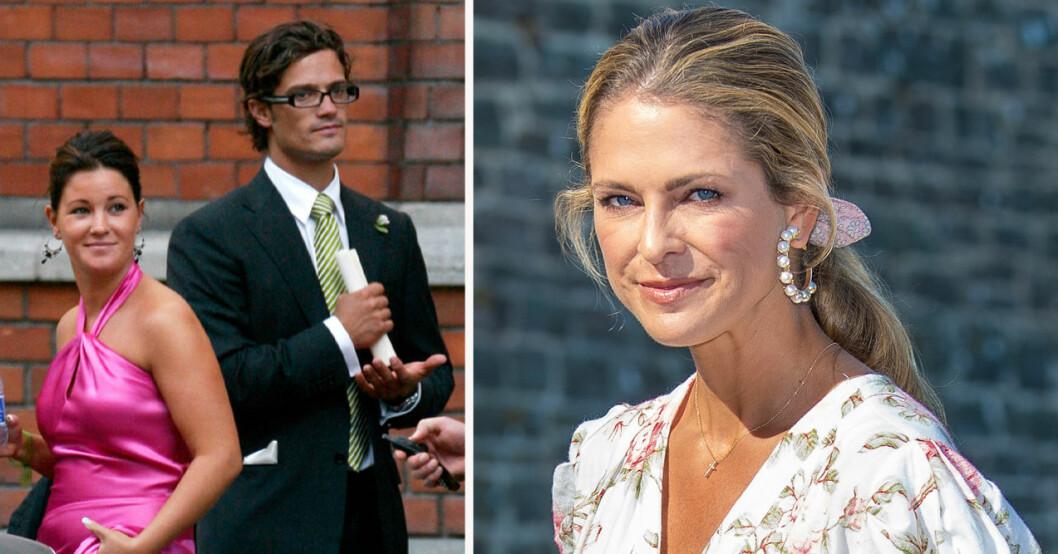 Emma Pernald, prins Carl Philip och prinsessan Madeleine