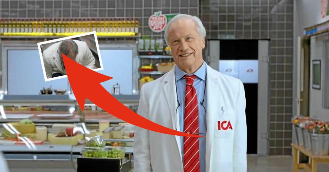 ersättaren till Loa Falkman här är nya Ica-Stig