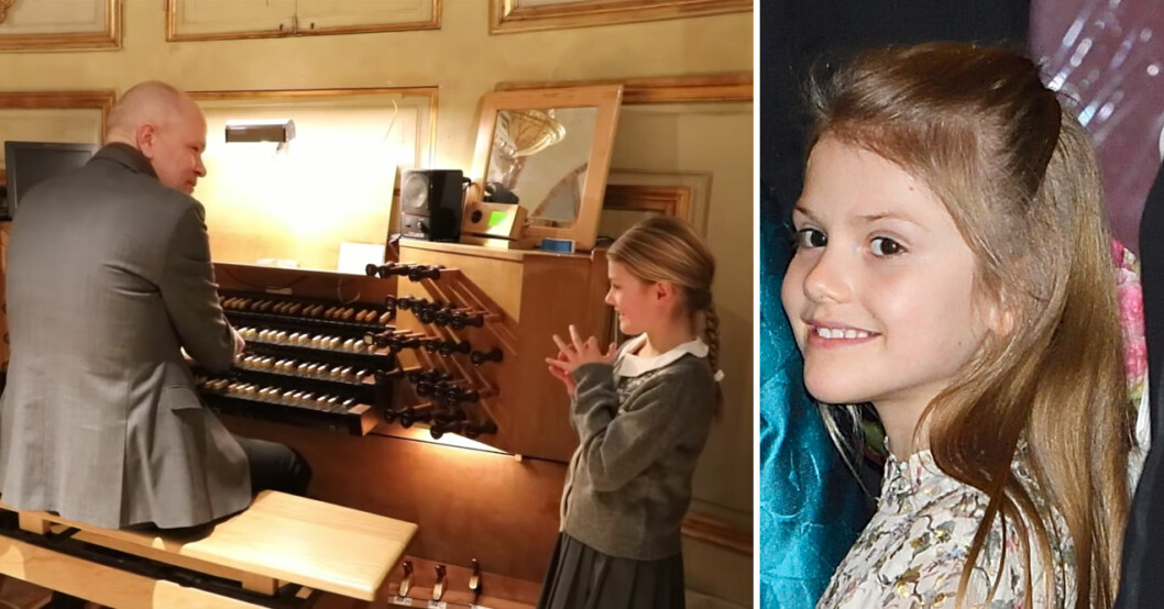 prinsessan estelle orgel storkyrkan