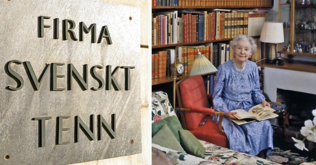 Estrid Ericson är kvinnan bakom möbelvaruhuset Svenskt Tenn