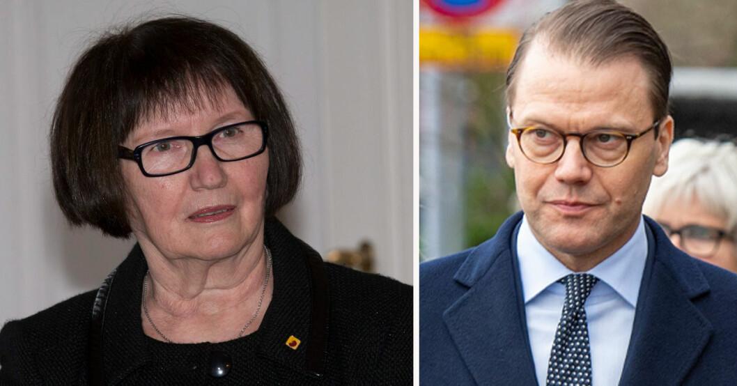 Ewa Westling och Daniel Westling