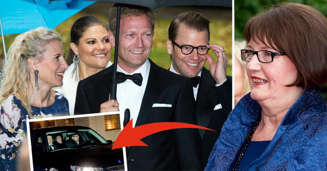 Ewa Westling Anna Westling Kronprinsessan Victoria Prins Daniel Mikael Söderström