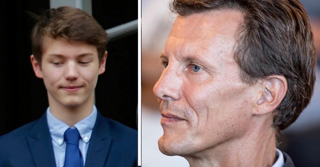 Felixs födelsedagslycka grusades efter beskedet om pappa Joachim.