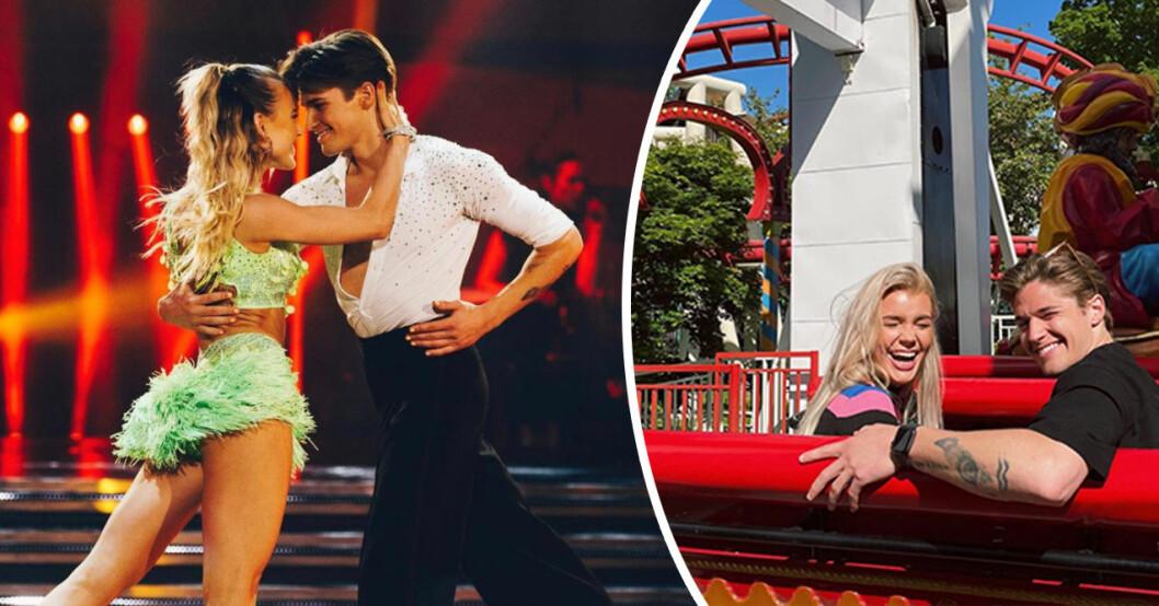 Filip och Linn vann Let's Dance 2021 – nu har de återförenats.