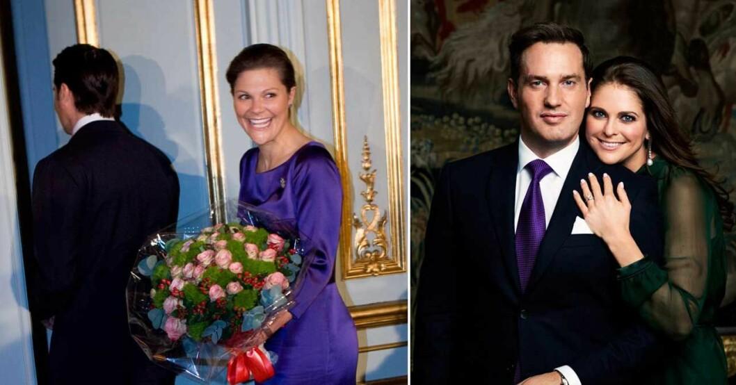 prins daniel kronprinsessan victoria prinsessan madeleine