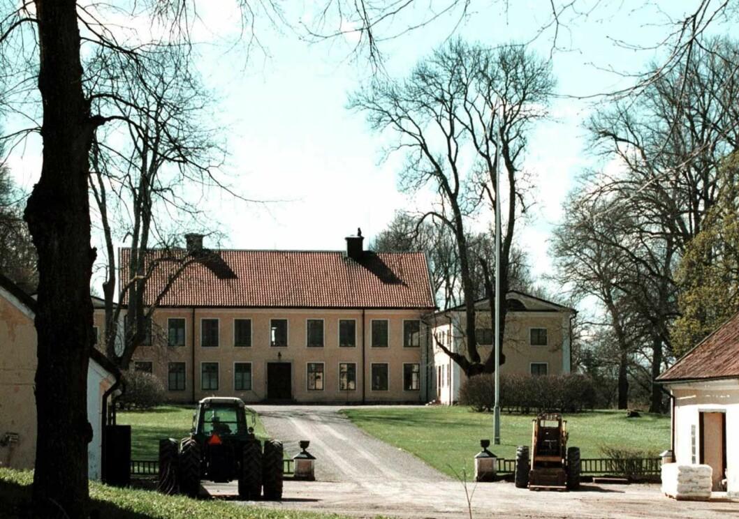 Dagmar von Arbins barndomshem Frötuna gård utanför Uppsala.