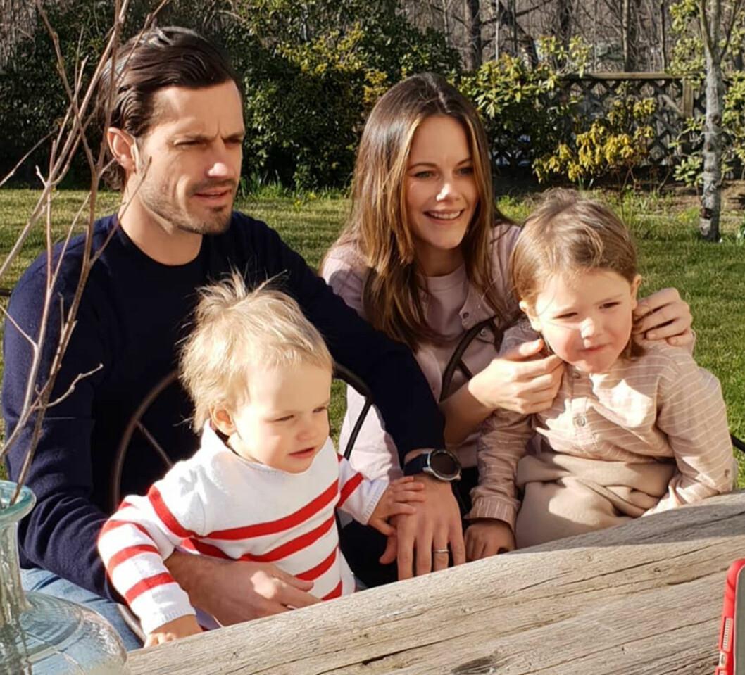 Prins Carl Philip prinsessan Sofia prins Gabriel prins Alexander