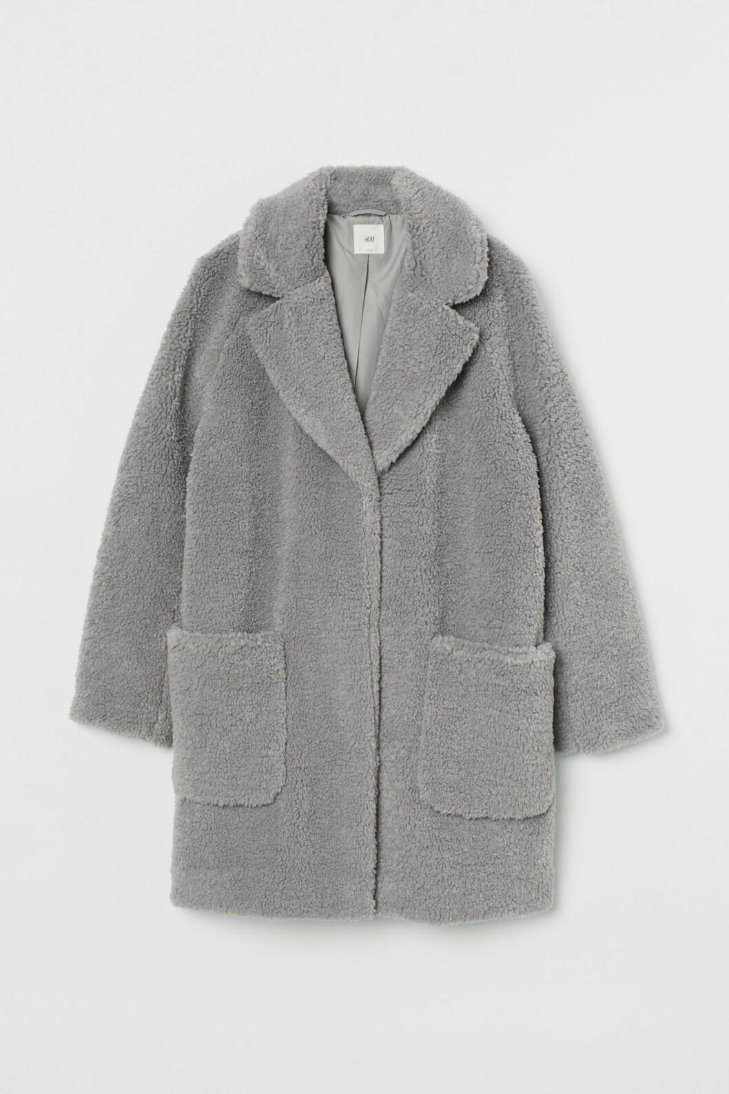 Grå kappa från H&M
