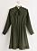 Grön klänning Lindex