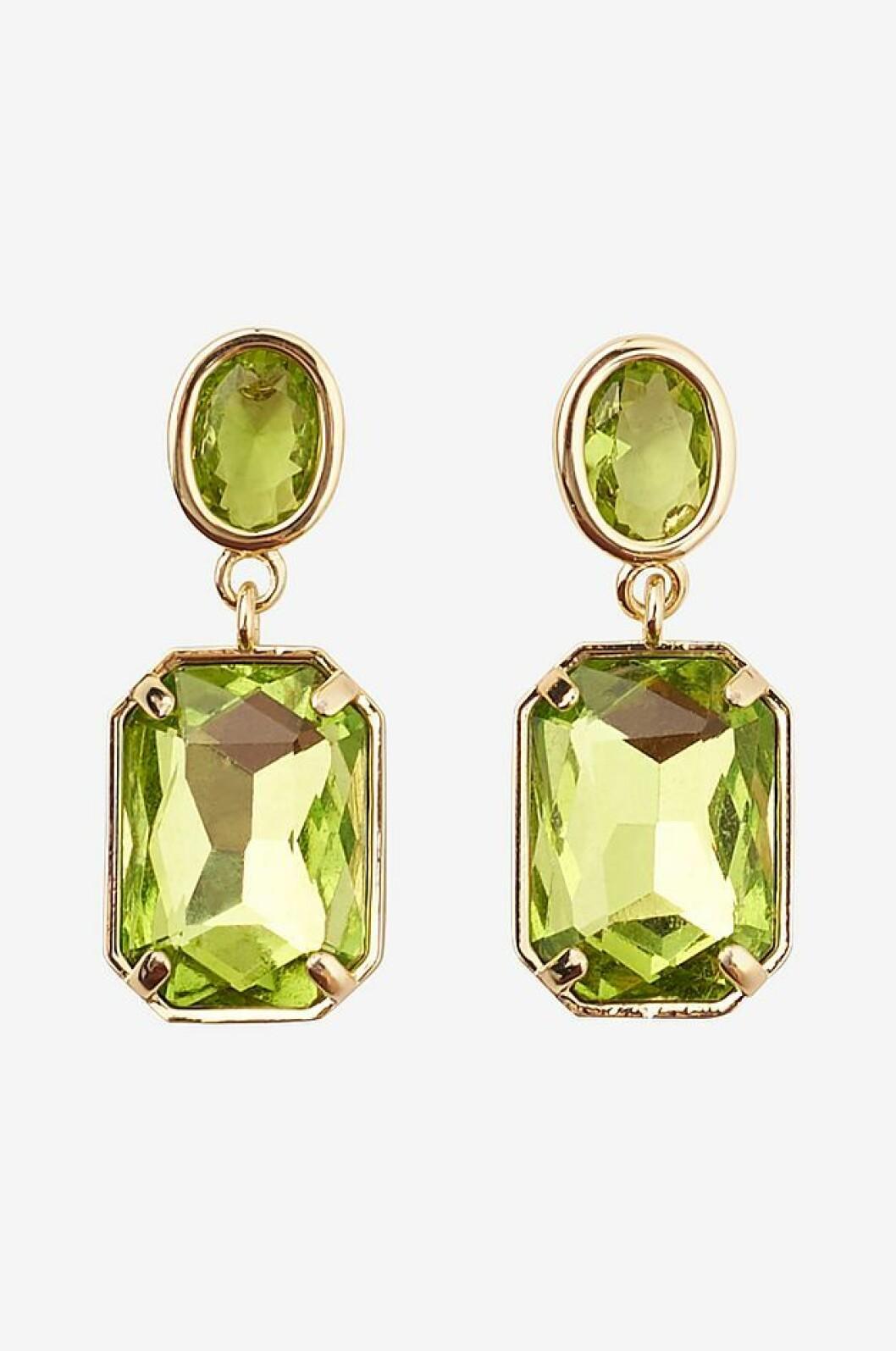 Gröna örhängen