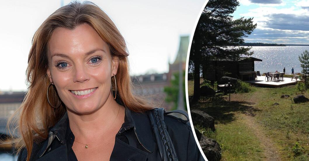 Gry Forsell och maken Alex Kossek säljer sin sommarstuga i Luleå Skärgård.