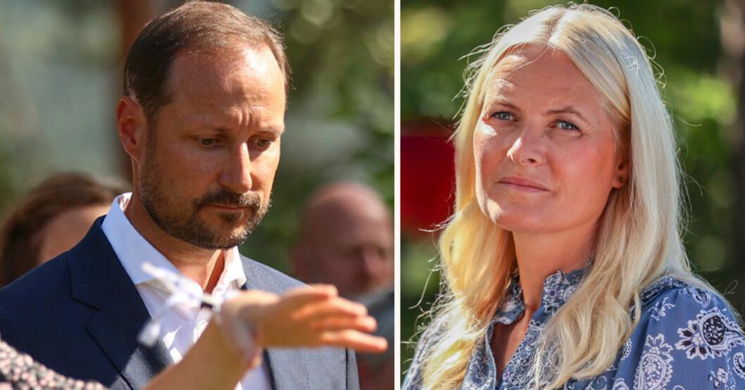 Kronprins Haakon och kronprinsessan Mette-Marit