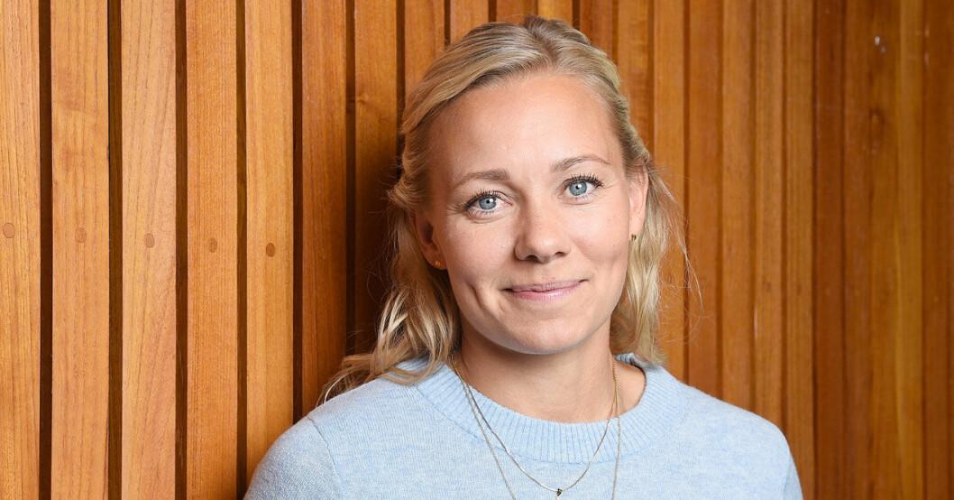 Frida Hansdotter gör succé i Mästarnas Mästare i SVT.