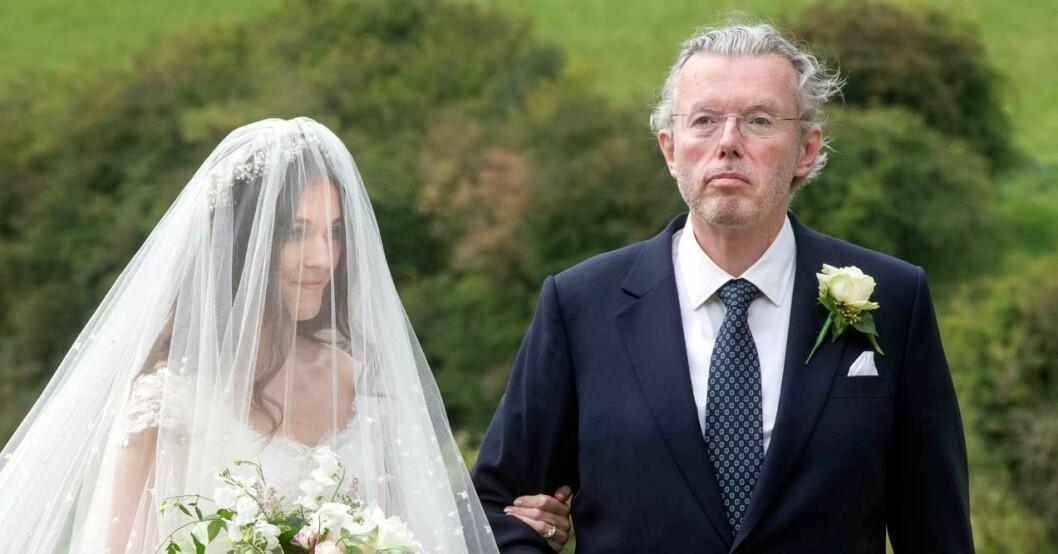 hans rausing gifter bort dottern lucy bröllop