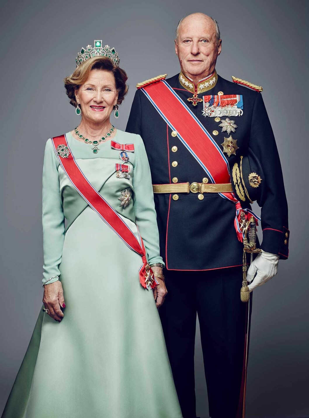 Kung Harald och drottning Sonja