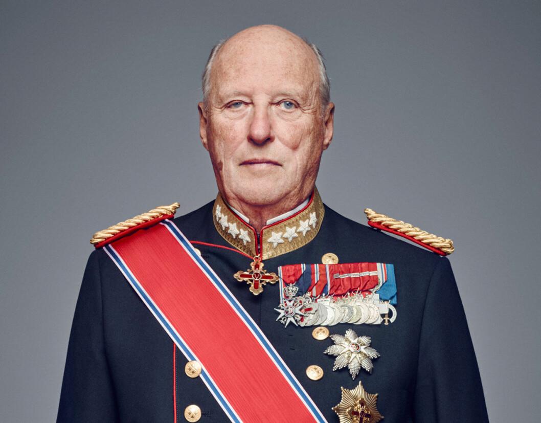 Kung Harald talar till norska folket om coronakrisen.