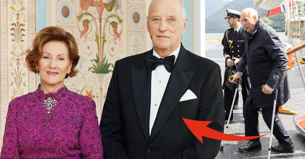 Kung Harald Drottning Sonja