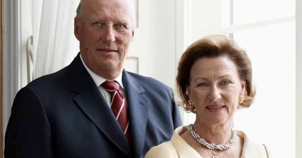 Kung Harald och hans Sonja.