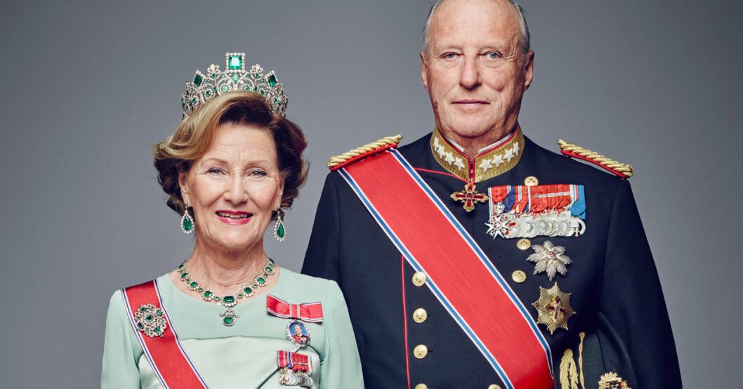 Kung Harald och drottning Sonja i karantän oro för coronaviruset