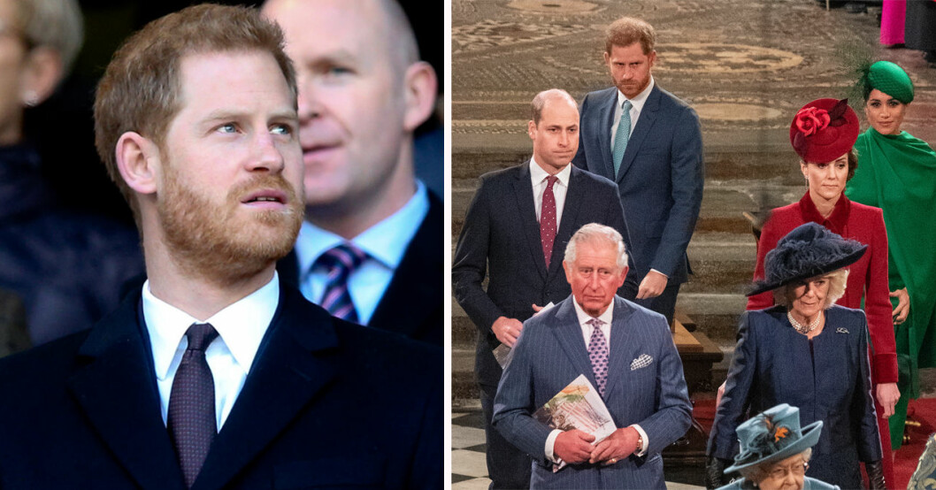 Prins Harry och brittiska kungafamiljen