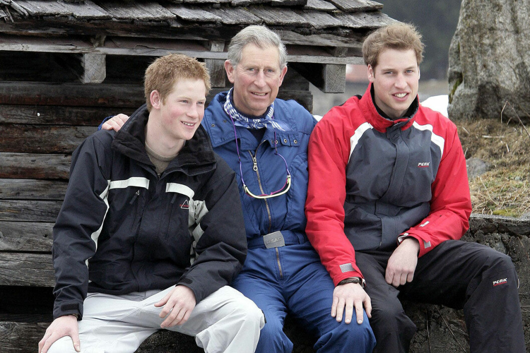 Prins Charles, William och Harry