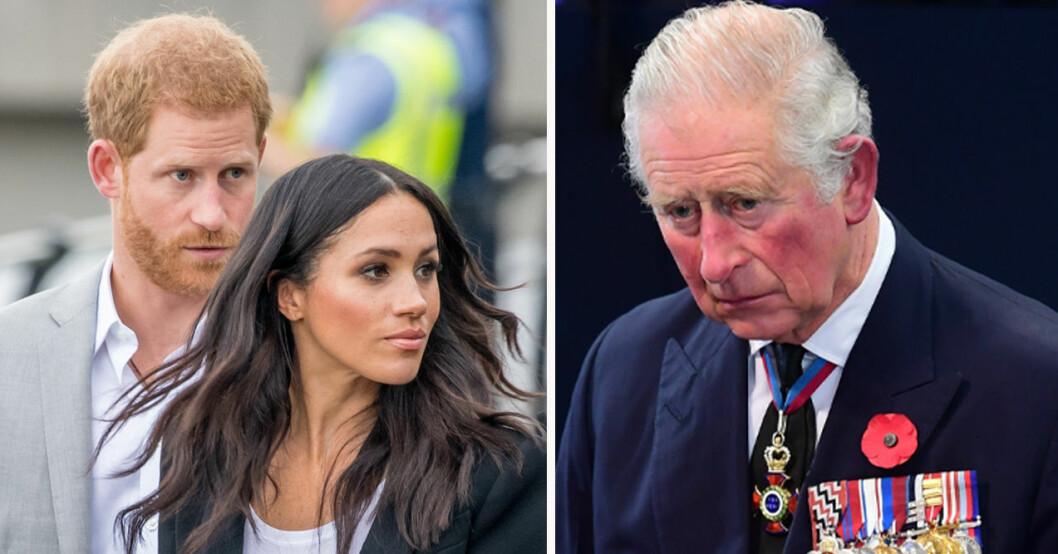 Prins Harry, Meghan Markle, prins Charles