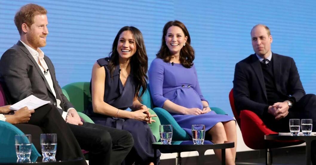 Harry, William, Kate, Meghan