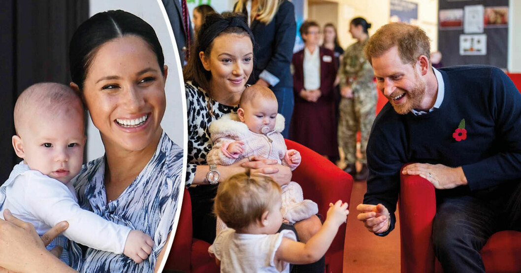 Experter: Meghan och Harry kan vara på väg att skaffa ett barn till