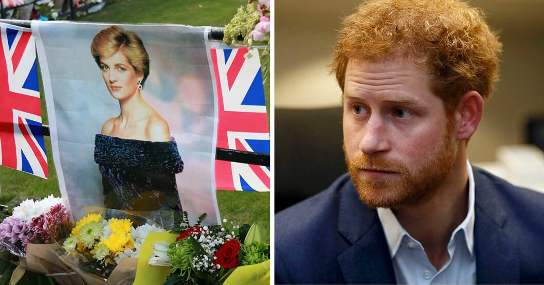 När prins Harry var 12 år dog plötsligt hans mamma, och det satte sin spår som senare skulle leda till både alkohol och droger.