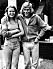 Björn Borg tillsammans med sin första kärlek Helena Anliot.