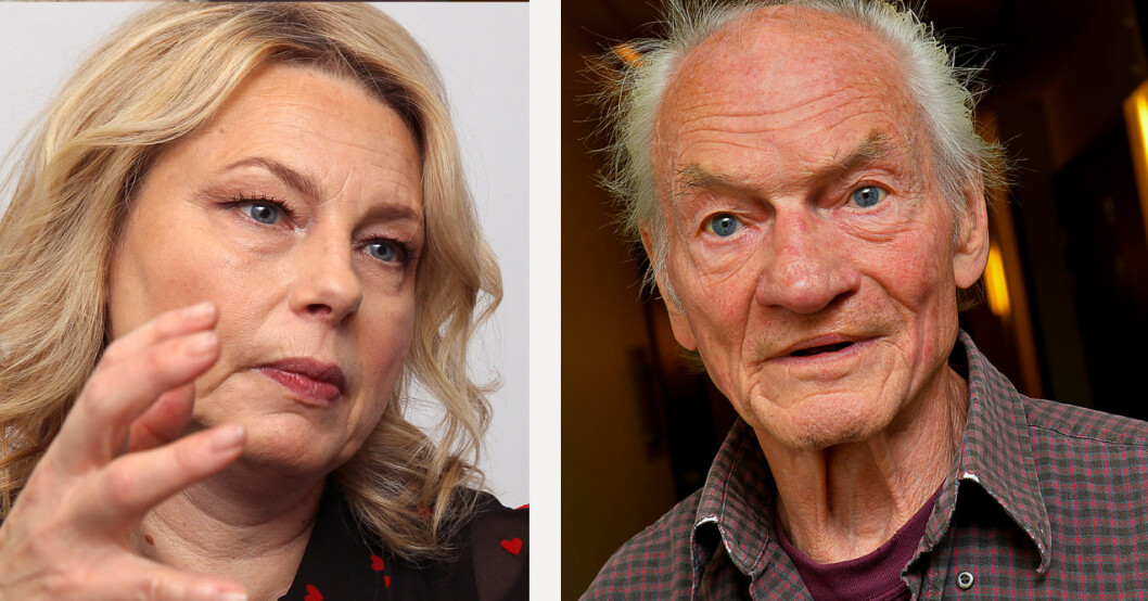 Helena Bergström och Tord Peterson