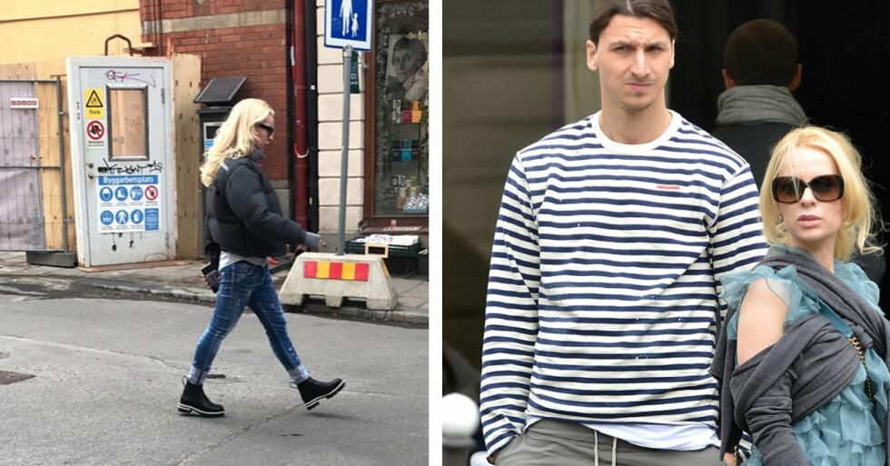 Helena Seger och Zlatan Ibrahimovic