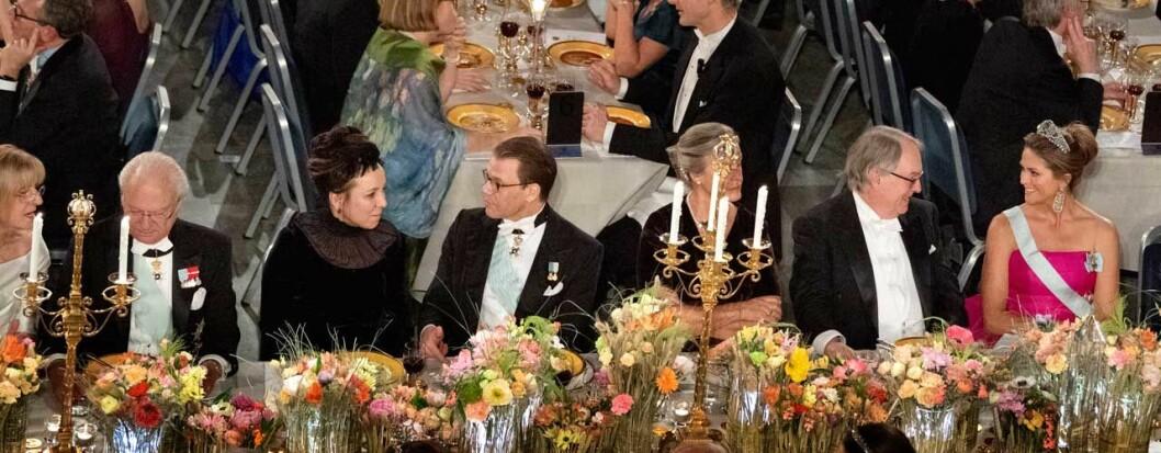 Honnörsbordet Nobel 2019.